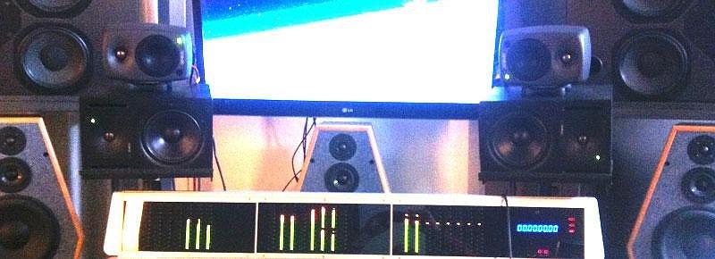 Genelec 8020B in der Testumgebung meines Studios