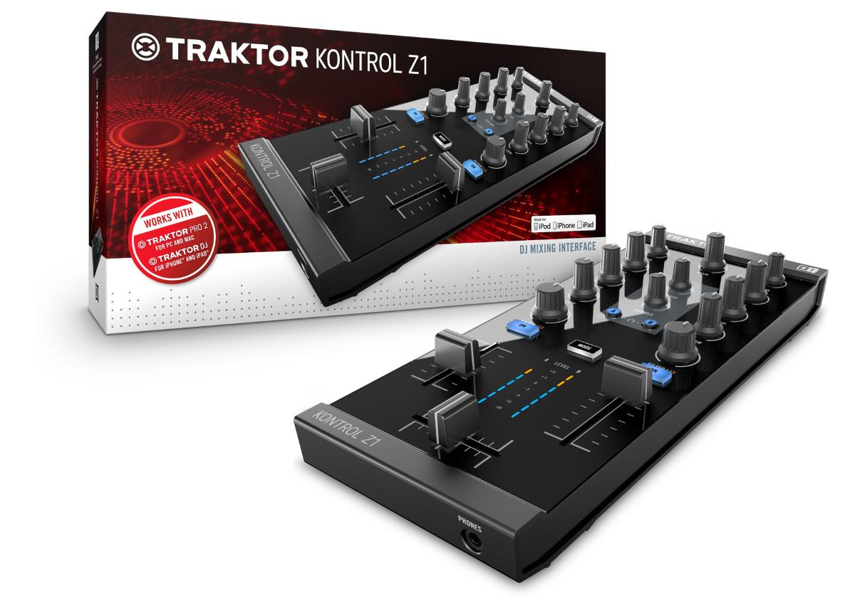 traktor dj app erweitert der kontrol z1 das setup mit einemTraktor Z1 Setup