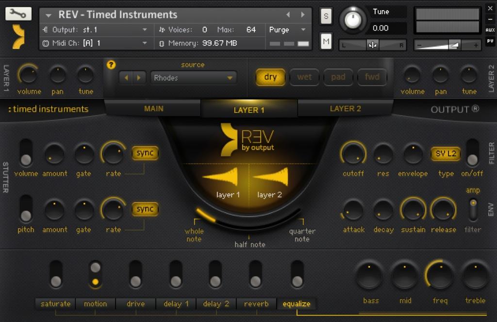 Timed Instruments in REV