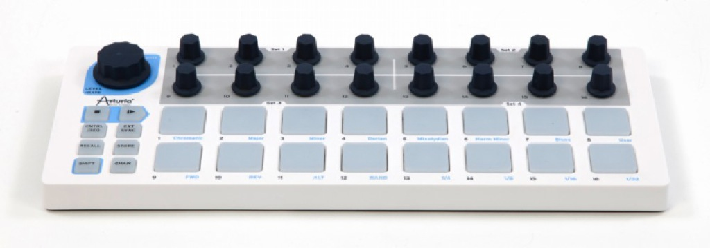 test arturia beatstep controller stepsequencer. Black Bedroom Furniture Sets. Home Design Ideas