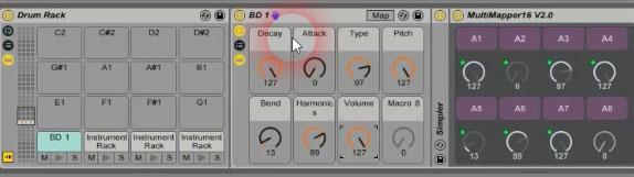 push drum machine