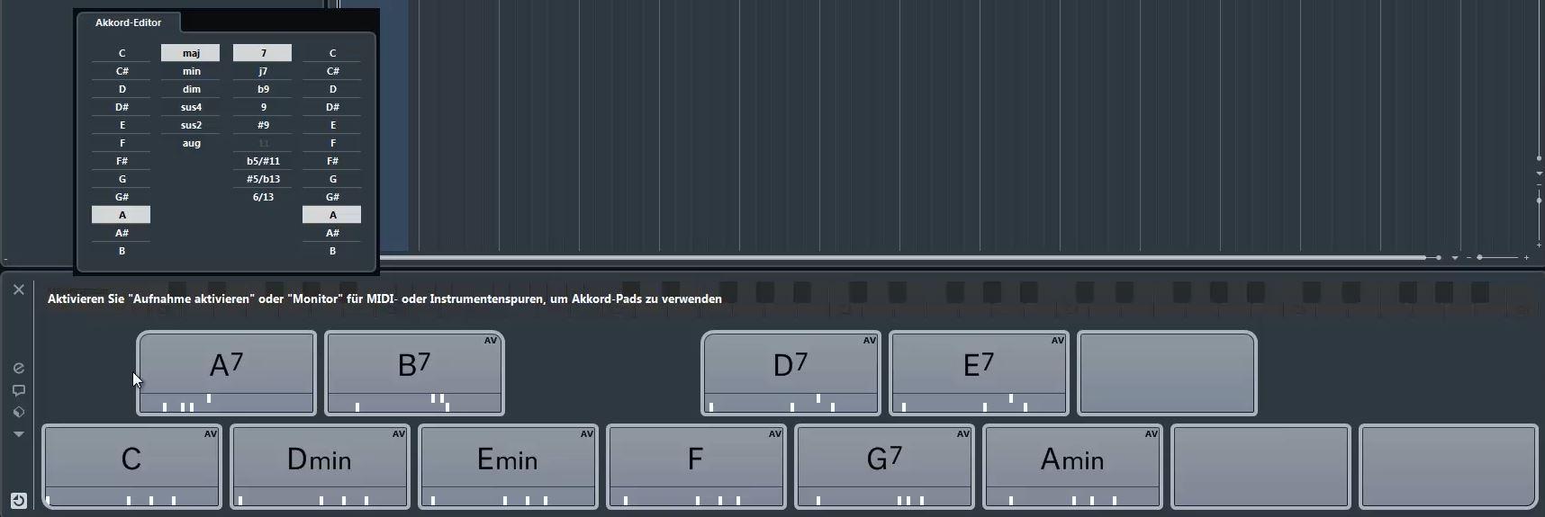 Chord-Pads