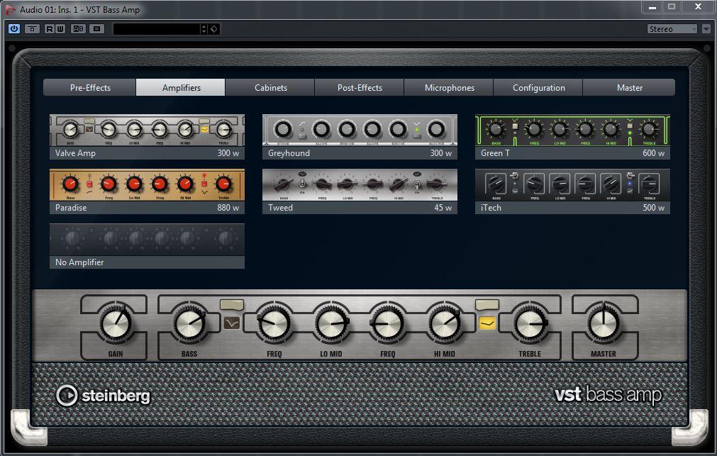 VST Bass Amp