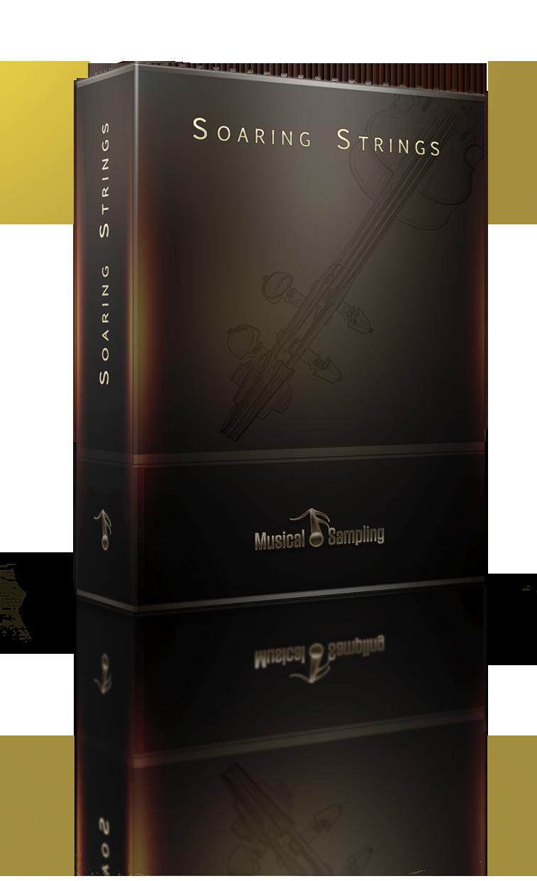 Packshot der Soaring Strings von Musical Sampling
