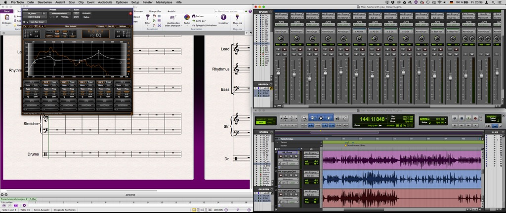 Floating PlugIn-Fenster in Pro Tools