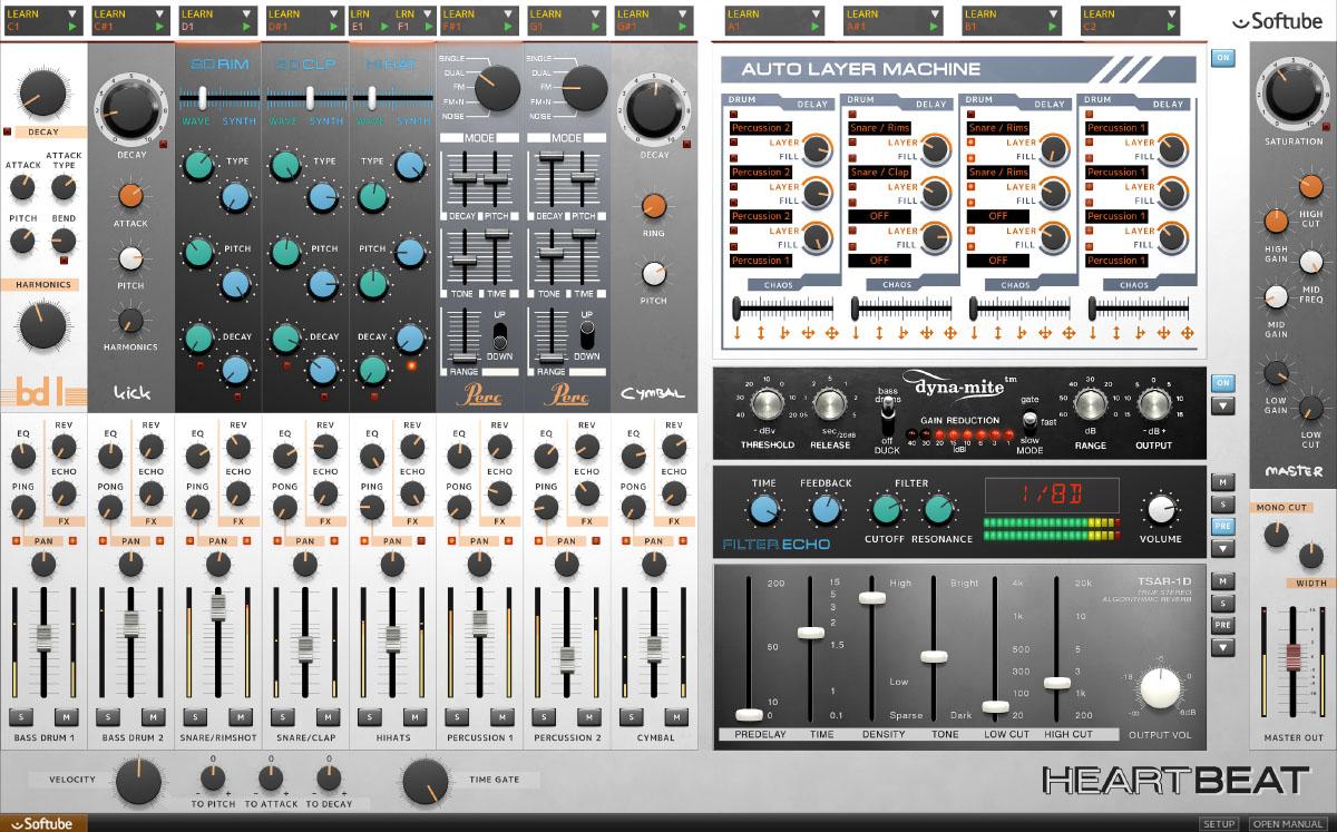 Heartbeat war der erste Klangerzeuger von Softube