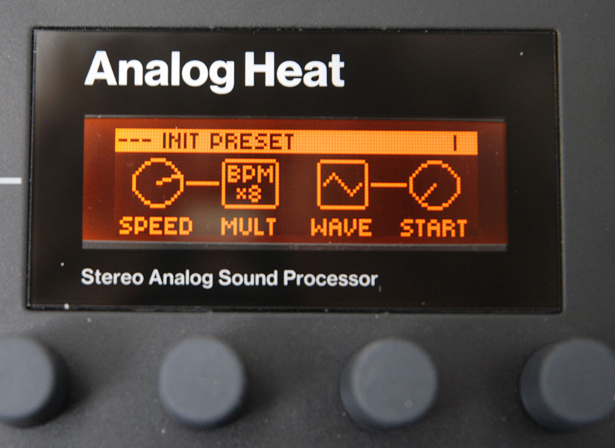 LFO des Analog Heat