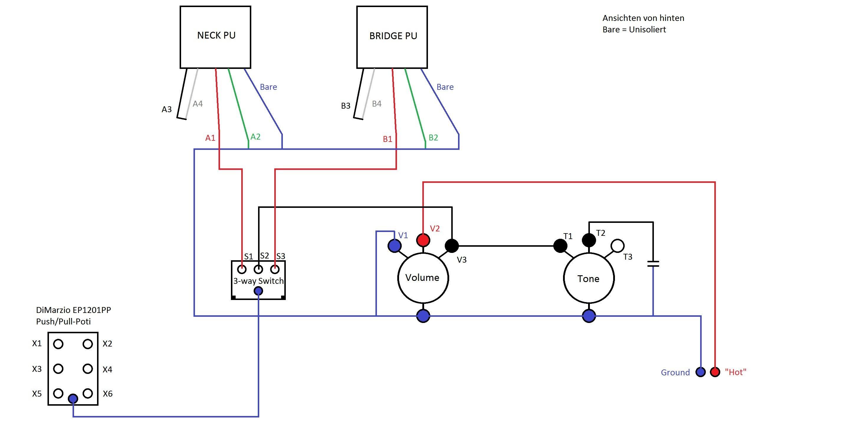 Ausgezeichnet 2 Draht Humbucker Schaltplan Bilder - Schaltplan Serie ...