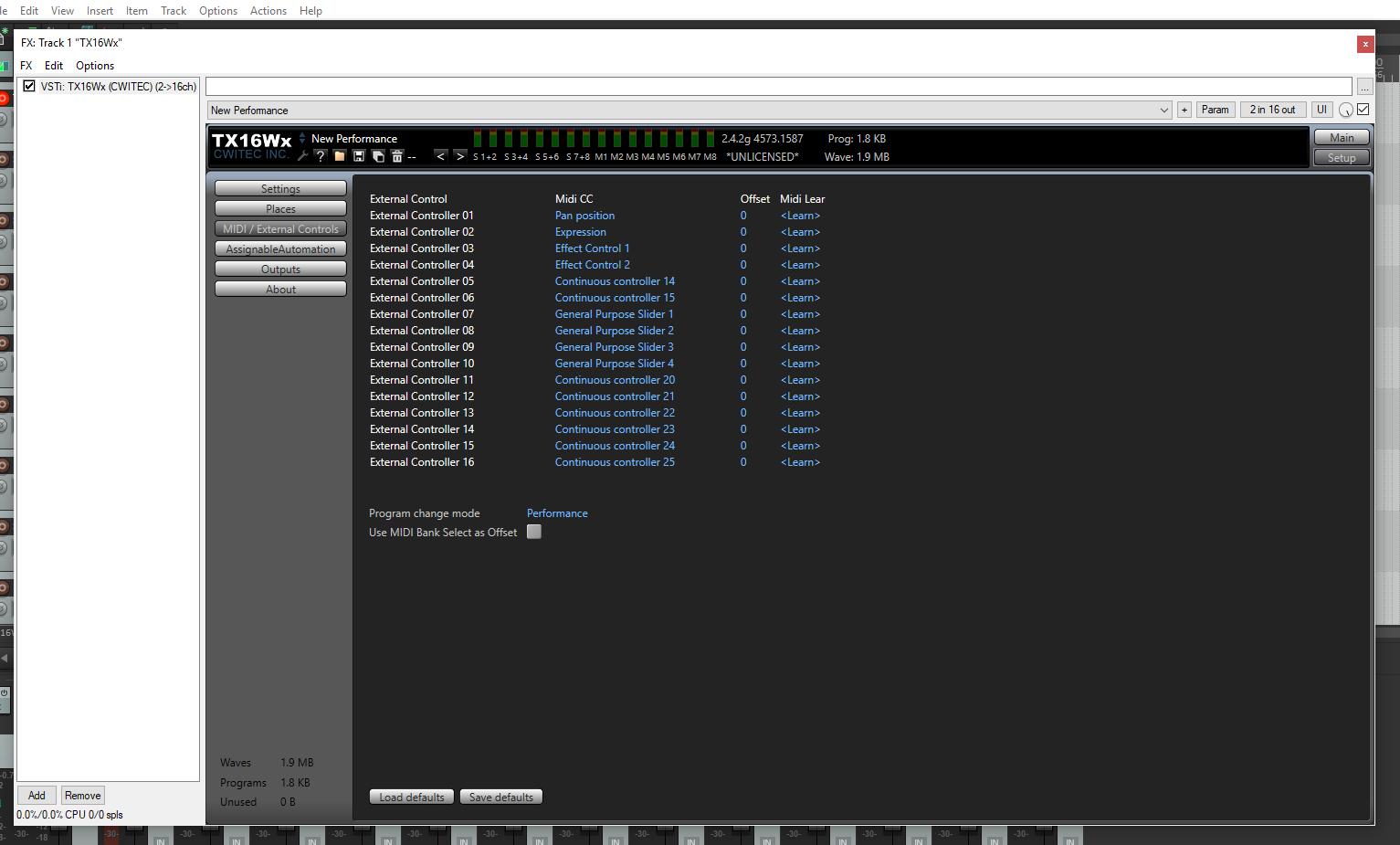Probleme mit dem TX16Wx Sampler und dem MPD218 - Midi CC | Recording de