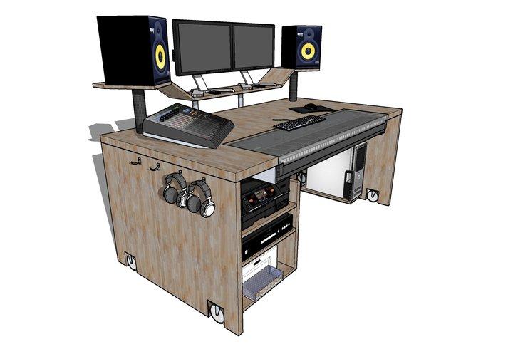 Super Tisch für Studio bauen? | Seite 2 | Recording.de NK92