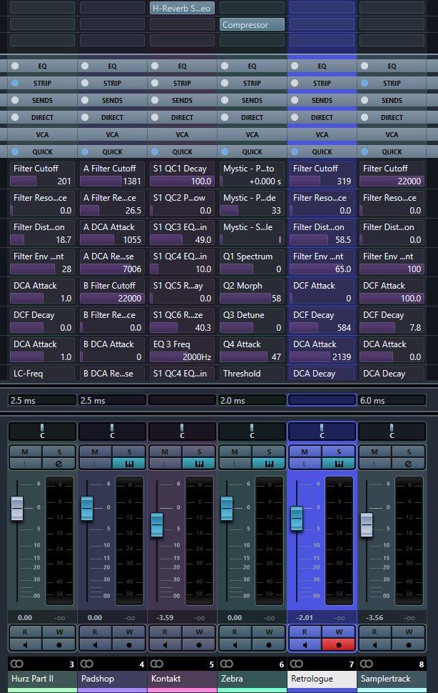 Cubase MixConsole-Quick Controls GEIL.JPG
