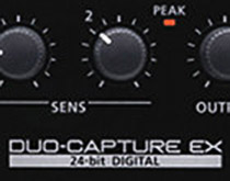 Roland Duo Capture EX - Audioninterface mit High-End Preamps