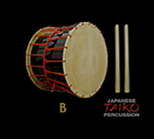 SONICA Instruments Japanese Taiko Percussion