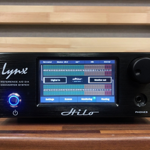 Lynx HiLo USB Reference Mastering Wandler in OVP